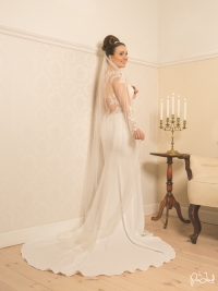 Model: Katrin Cee // Muah: Makeup your Wedding // Kjole: Krøyer's Brudekjoler