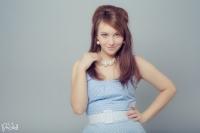 Model: Katrin Cee // Kjole: Rockahula