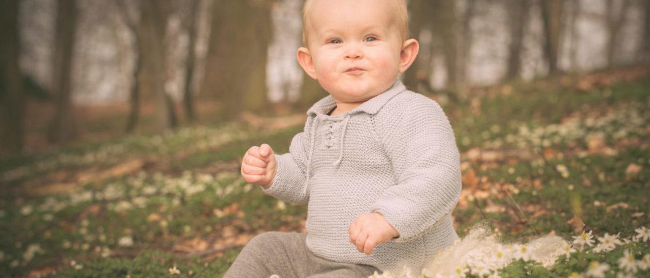 Baby fotografering